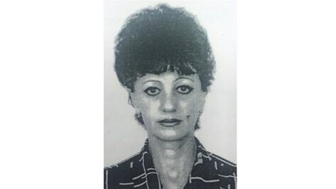 В Воронежской области пропала 58-летняя женщина