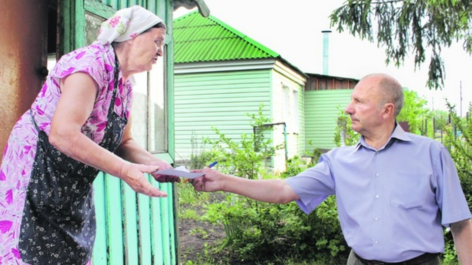 Жители Панинского района жалуются на нехватку питьевой воды