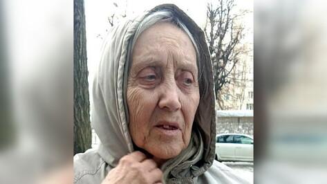 В Воронеже вышла из дома и пропала 79-летняя пенсионерка