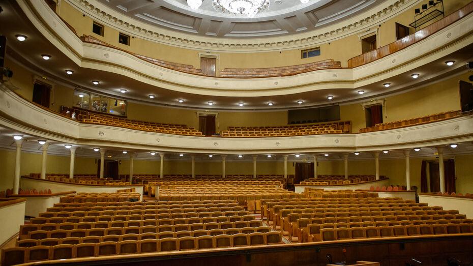 К концу 2019 года появится проект строительства нового здания воронежского оперного театра