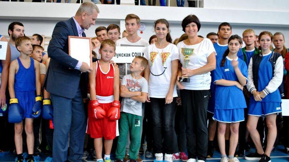 В новом спорткомплексе Семилук отметили День физкультурника