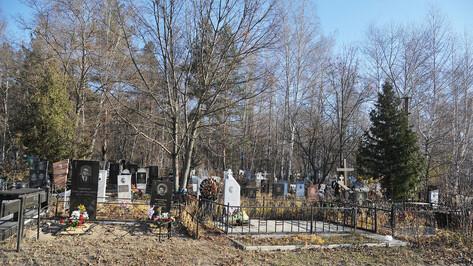 К Пасхе на воронежских кладбищах оборудуют биотуалеты