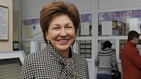 Галина Карелова сложила полномочия депутата Госдумы от Воронежской области