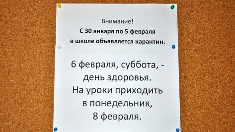 В Павловском районе эпидпорог превышен в 1,6 раза