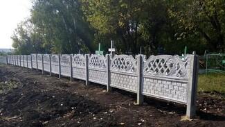 Активисты огородили старинное кладбище в грибановском селе Поляна