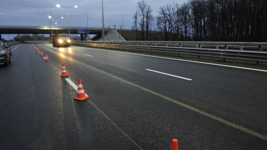 Движение транспорта ночью на въезде в Воронеж закроют с 30 апреля