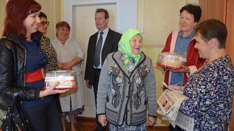 Павловчане провели для пожилых людей акцию «От сердца к сердцу»