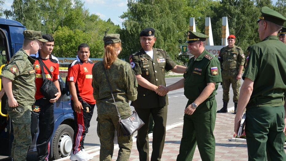В Острогожске пройдет международный конкурс среди военных водителей