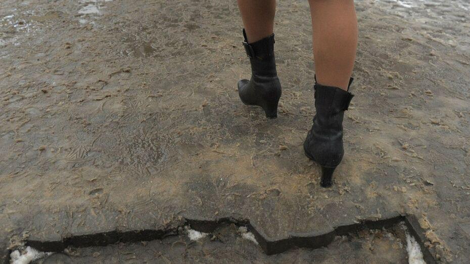 В Воронежской области прокуратура потребовала очистить улицы от снега и наледи