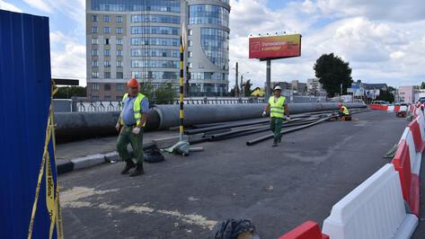 Полное перекрытие виадука у «Работницы» в Воронеже сдвинули на 2 часа