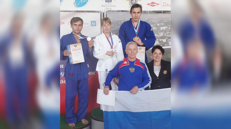 Новоусманские паралимпийцы завоевали «золото» и «серебро» на чемпионате России по дзюдо