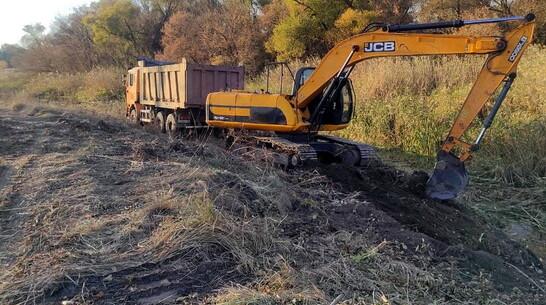 Экологи рассказали о проходящей при поддержке воронежского губернатора расчистке реки Подгорная