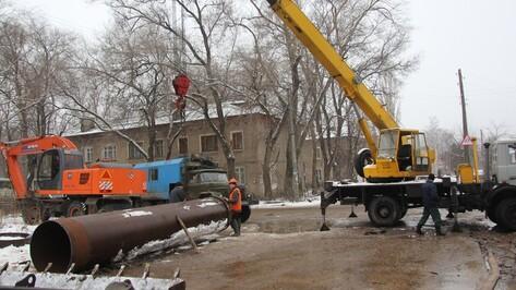 Срок завершения ремонта водопровода на перекрестке улиц Газовая и Гайдара продлен