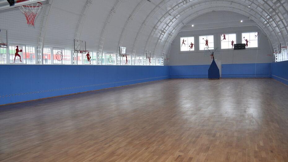 Баскетбольный зал лискинской спортшколы «Восточная» впервые за 29 лет отремонтировали