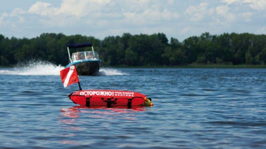 Воронежец вызвал спасателей из-за «тонувшего» в водохранилище подводного охотника