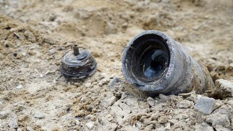 В Верхнемамонском районе уничтожили боеприпасы времен Великой Отечественной войны