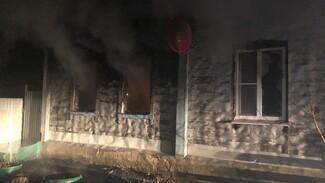 В ночном пожаре в Воронежской области погибла семья: среди жертв есть годовалый малыш