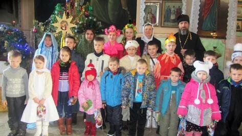 В храме каширского села Боево прошел первый рождественский концерт