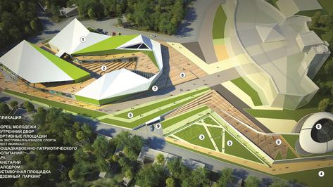 Новый Дворец молодежи в Воронеже могут построить возле парка Алые паруса