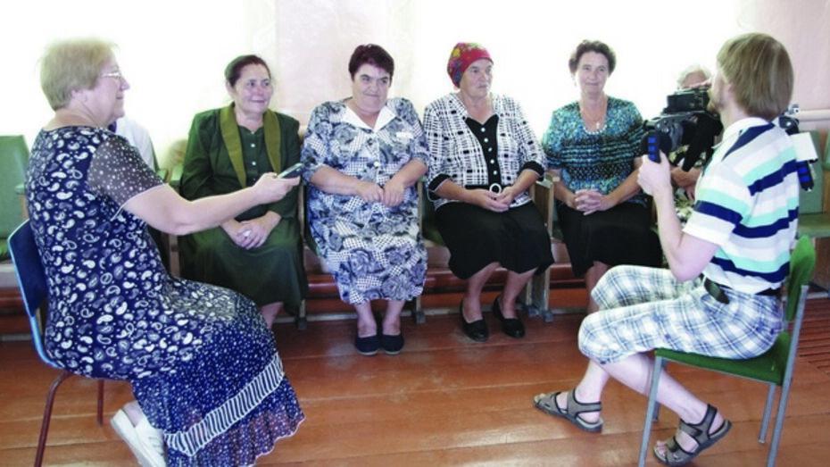 В Богучарском районе побывала музыкально-этнографическая экспедиция