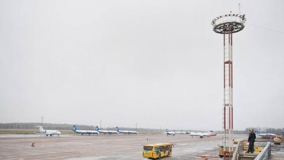 Гололед скорректировал работу воронежского аэропорта