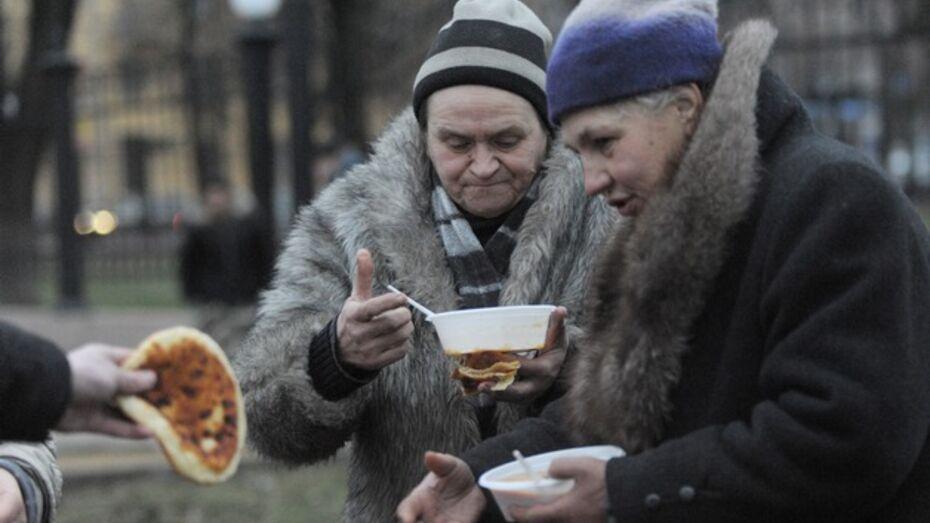 Воронежцы могут помочь бродягам