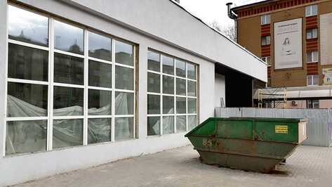 Завершить ремонт Дома архитектора в Воронеже запланировали к концу мая