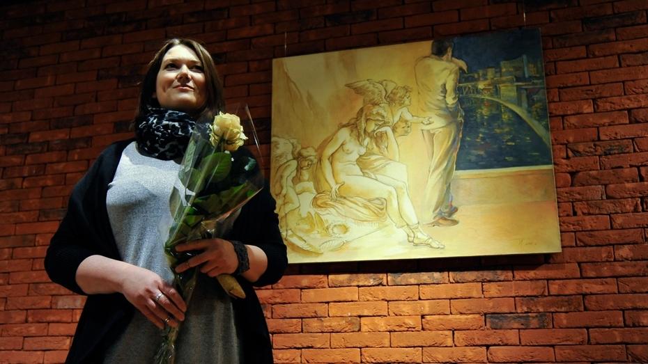 Московская художница привезла в Воронеж «пойманное волшебство»
