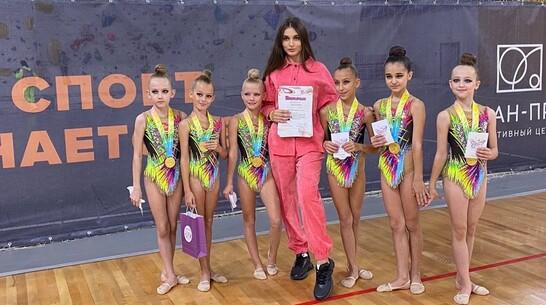 Борисоглебские спортсменки заняли призовые места на турнире по художественной гимнастике