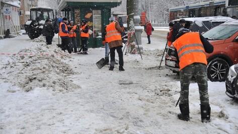 В Воронеже к уборке снега подготовили более 300 спецмашин