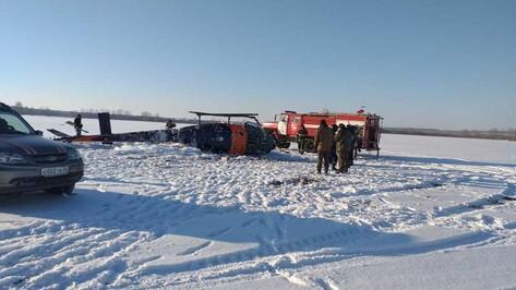 После жесткой посадки вертолета под Воронежем возбудили уголовное дело