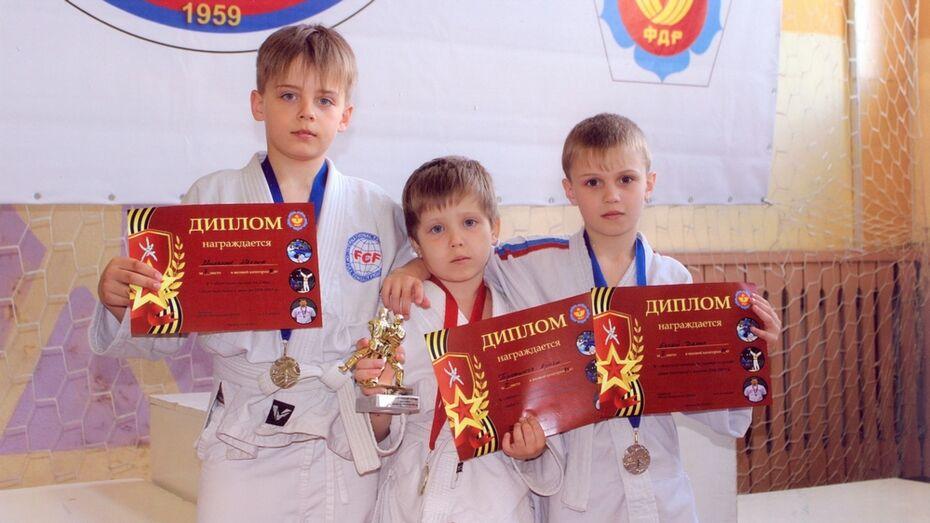 Лискинские дзюдоисты завоевали 6 медалей на турнире городов России