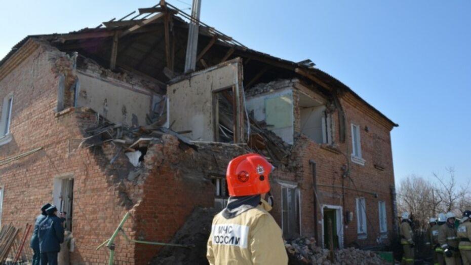 Прокуратура: утечка газа привела к взрыву в доме в Воронежской области