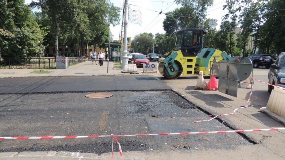 Воронежские власти опубликовали план дорожных работ на 11 мая
