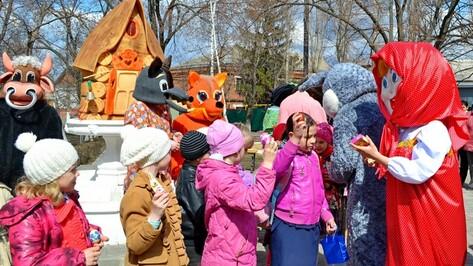 В Бутурлиновке прошел пасхальный праздник для школьников