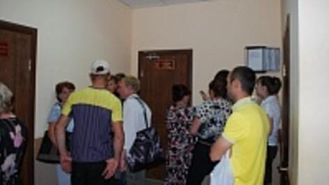 В россошанскую миграционную службу ежедневно обращаются до 10 граждан Луганской и Донецкой областей