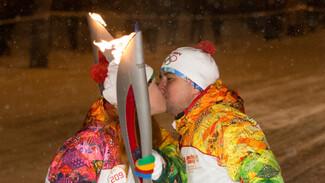 Воронеж провел 750 минут на линии Олимпийского огня