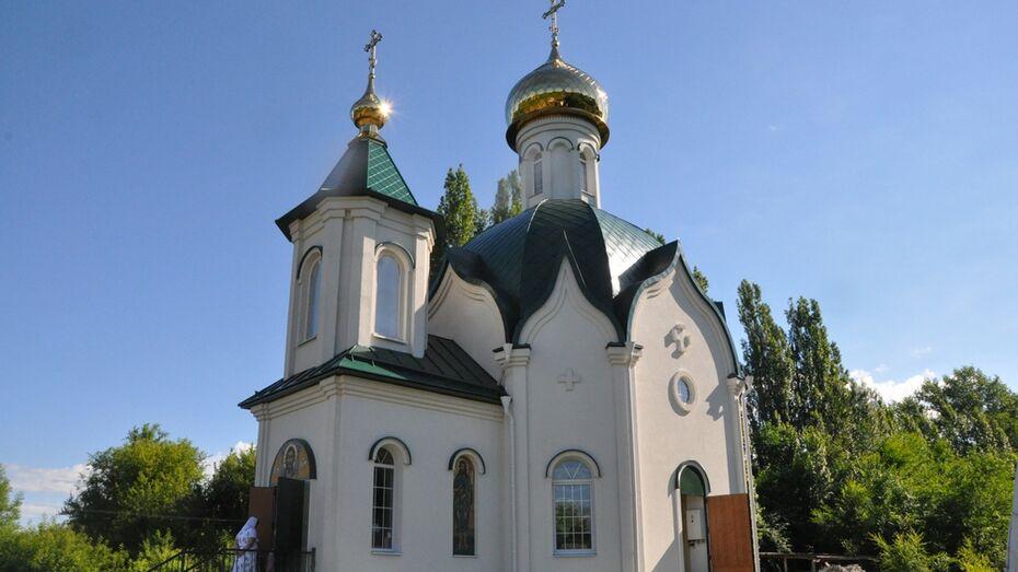 В Эртильском районе открыли новый храм