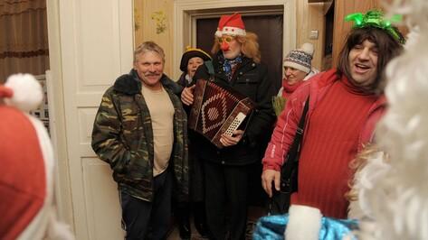 Репортаж РИА «Воронеж». Как чиновники из воронежского села колядовали на Рождество