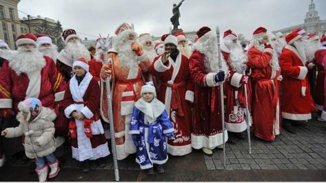 Предновогодние праздничные мероприятия начнутся в Воронеже с парада Дедов Морозов