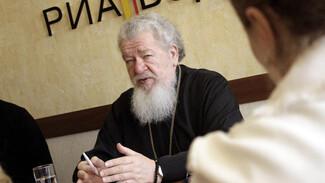 Митрополит Сергий ответит на вопросы читателей РИА «Воронеж» 3 апреля