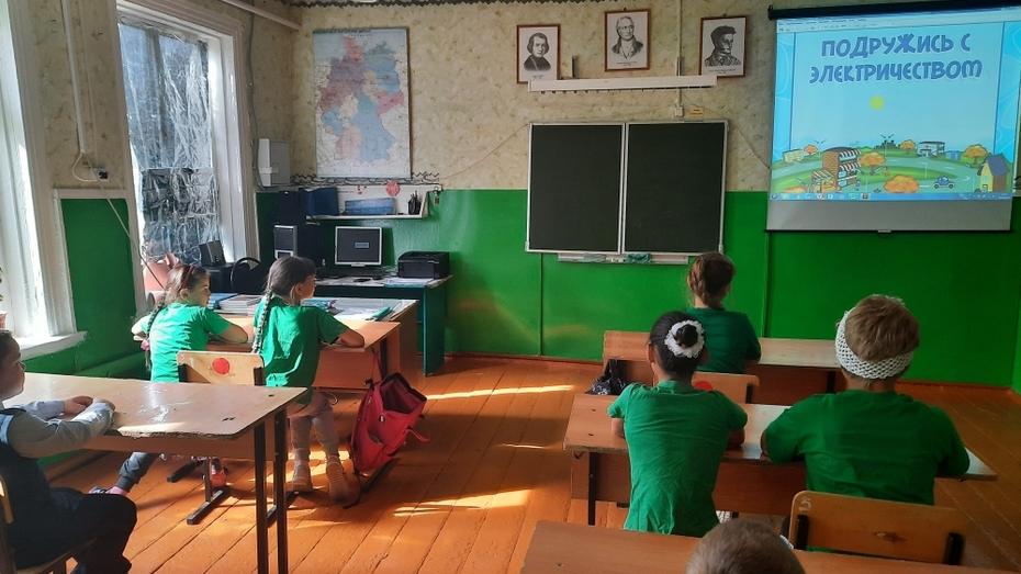 Специалисты Воронежэнерго провели уроки безопасности в школах
