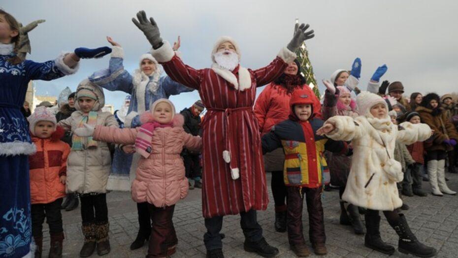 Опубликован полный список новогодних гуляний в Воронеже