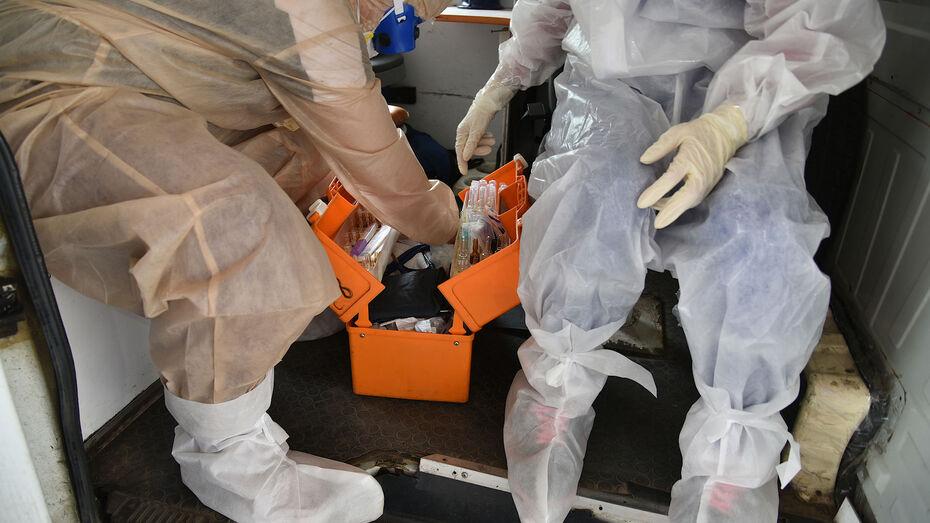 Суточная заболеваемость COVID-19 снова пошла на спад в Воронежской области