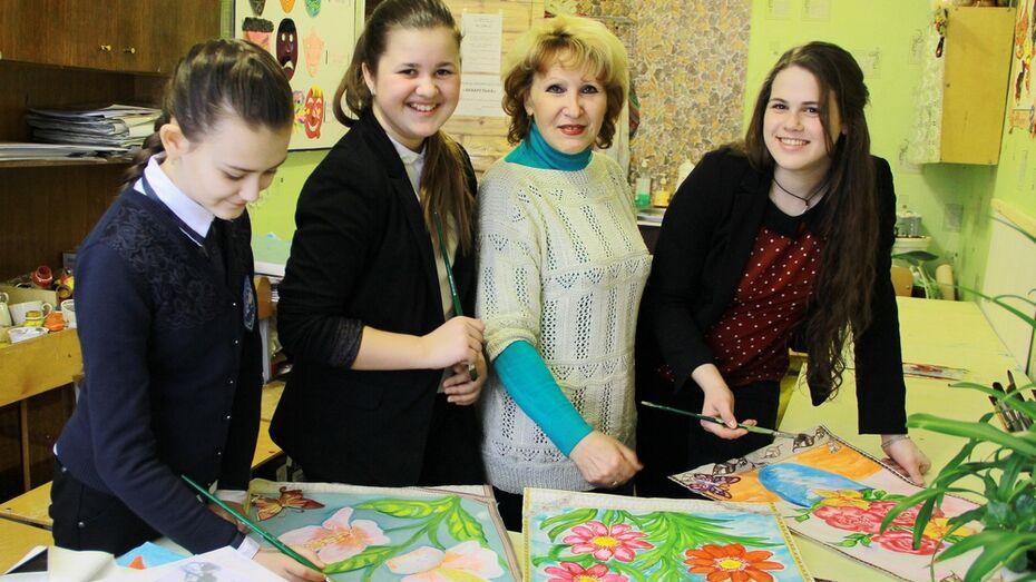 Семилукские школьники стали победителями всероссийского конкурса рисунков