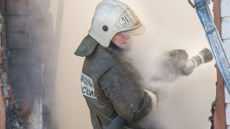 В Панинском районе при пожаре погиб мужчина