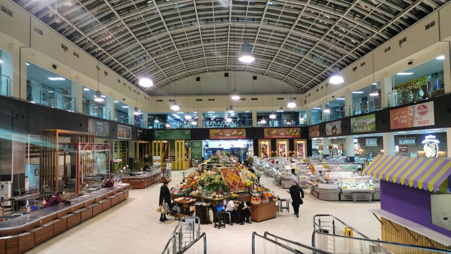В Воронеже на неделю закроется Центральный рынок