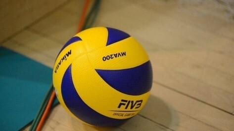 Волейбольный «Воронеж» дома уступил краснодарскому «Динамо»