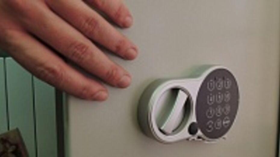 В Павловске воры вынесли из дома сейф с несколькими сотнями тысяч рублей