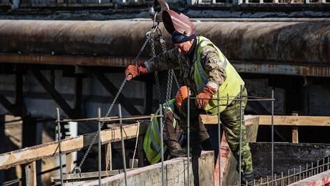 Сроки открытия виадука у «Работницы» в Воронеже сдвинули на конец апреля